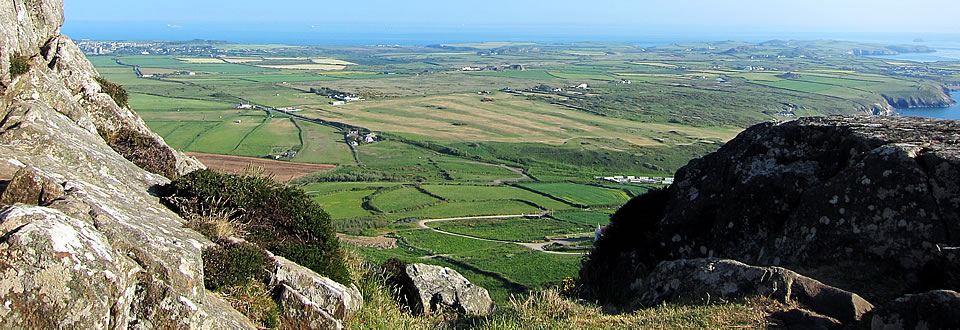 St Davids - view south from Carn Llidi