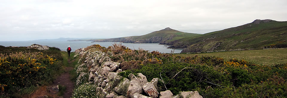 St Davids Head - view to the west